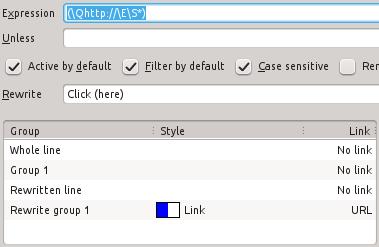 Links settings