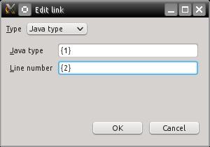 Java type link
